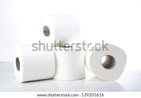 toilet tissue paper roll reel toilet stock photo  toilet tissue paper roll the reel of the toilet paper on the white background