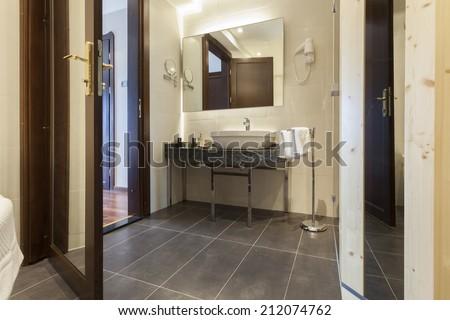 Toilette interior - stock photo