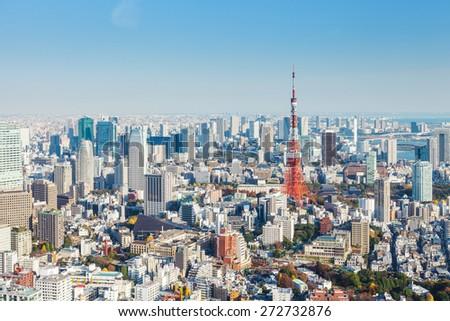 Tokyo city - stock photo