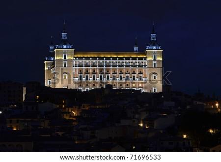 Toledo Alcazar - stock photo