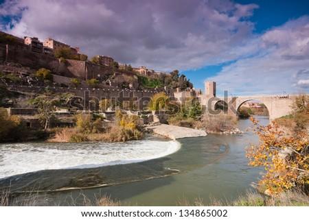 Toledo Spain - stock photo
