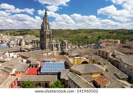 Toledo, Spain - stock photo