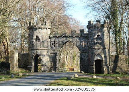 Tollymore main gate