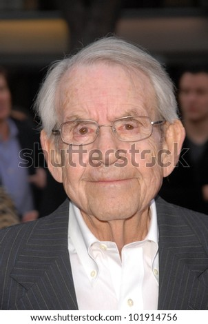 "Tom Bosley  at the Premiere of CBS Films' ""The Back-up Plan,"" Regency Village Theater, Westwood, CA. 04-21-10"