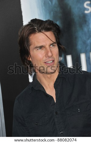 "Tom Cruise at the Los Angeles premiere of ""Super 8"" at the Regency Village Theatre, Westwood. June 8, 2011  Los Angeles, CA Picture: Paul Smith / Featureflash"