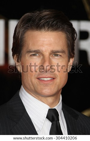 Tom Cruise attends the premiere of 'Edge Of Tomorrow' held at the BFI IMAX on May 28, 2014 in London, United Kingdom.