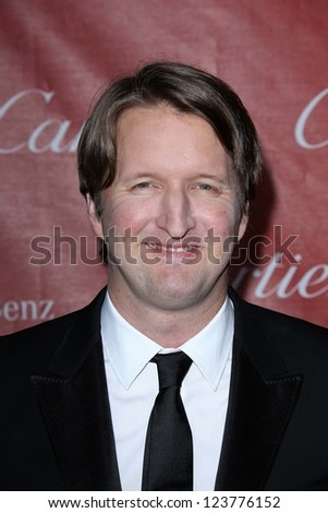 Tom Hooper at the 2013 Palm Springs International Film Festival Gala, Palm Springs Convention Center, Palm Springs, CA 01-05-13