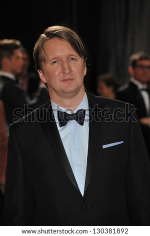 Tom Hooper at the 85th Academy Awards at the Dolby Theatre, Hollywood. February 24, 2013  Los Angeles, CA Picture: Paul Smith