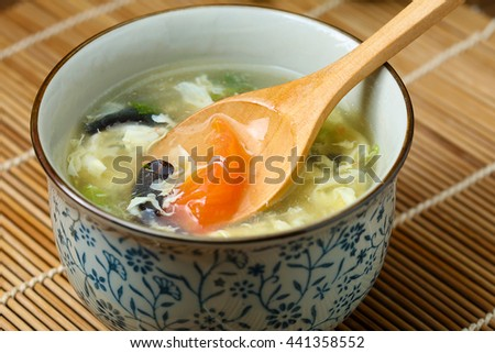 Tomato and Egg Soup