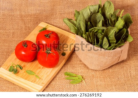 tomato and sorrel