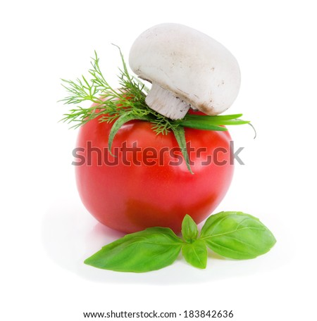 Tomato.Chef.  - stock photo