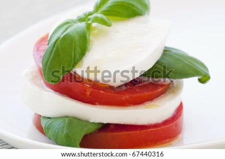 Tomato Mozzarella - stock photo