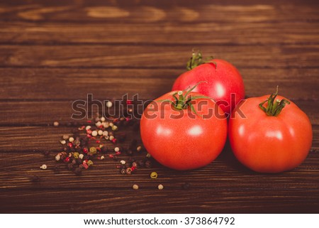 tomatoes with spices