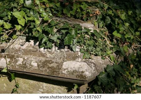 tomb - stock photo