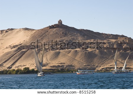 Tombs of the Nobles at Aswan
