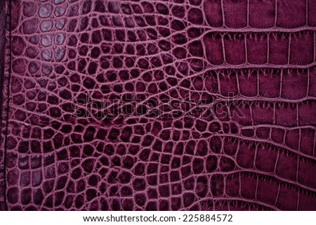 Toned genuine leather texture shot close-up