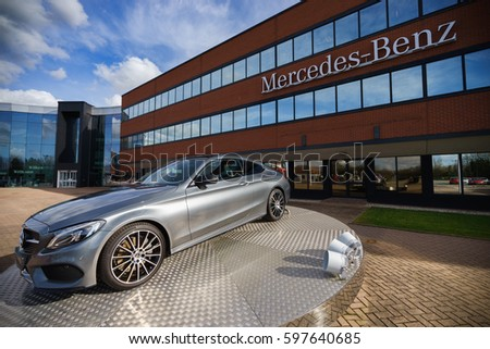 Tongwell milton keynes england march 8 stock photo for Mercedes benz of hilton head