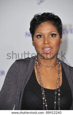 "Toni Braxton at the Los Angeles premiere of ""Justin Bieber: Never Say Never"" at the Nokia Theatre LA Live. February 8, 2011  Los Angeles, CA Picture: Paul Smith / Featureflash"