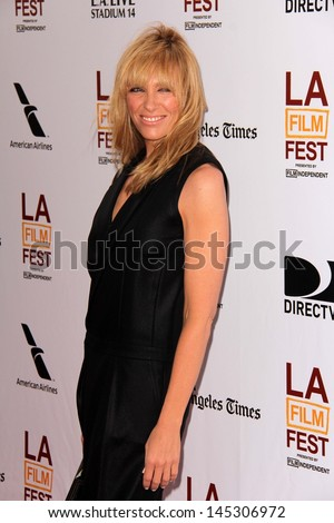 """Toni Collette at """"The Way Way Back"""" Premiere as part of the Los Angeles Film Festival, Regal Cinemas, Los Angeles, CA 06-23-13 - stock photo"""