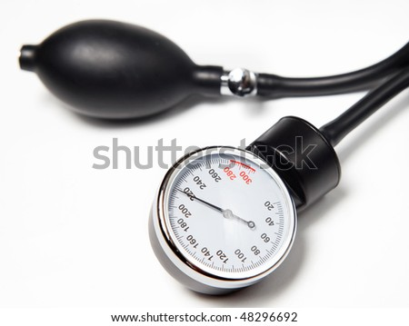 tonometer - stock photo