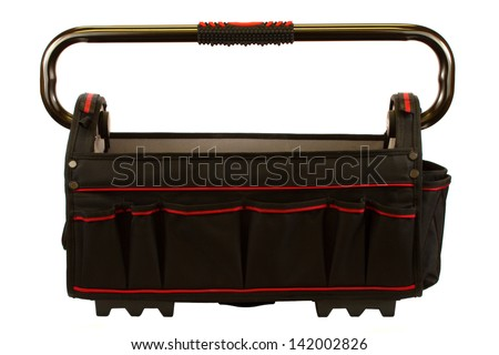 Tool box isolated on a white background.