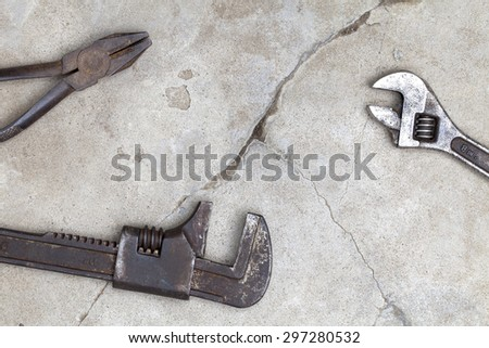Tool such as the part of the body - stock photo