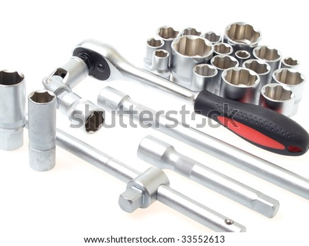 Tools for car - stock photo
