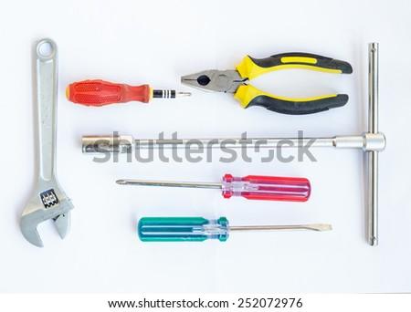 Tools for repair - stock photo