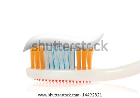 Tooth-brush - stock photo