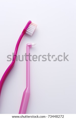 toothbrush - stock photo