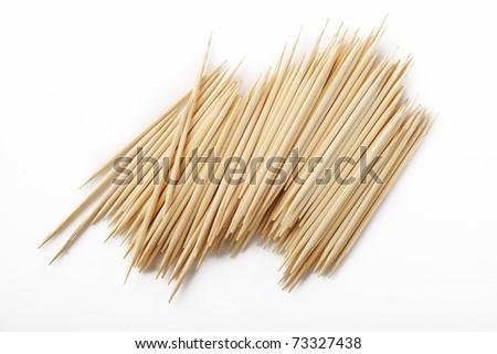 toothpick - stock photo