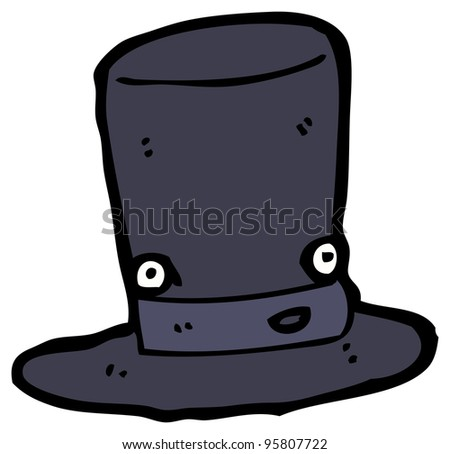 top hat cartoon character