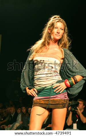 Top Model Gisele Bundchen  - stock photo