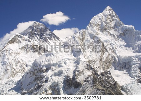 Top of the Word – the Mount Everest and Nuptse
