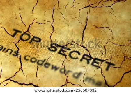 Top secret - stock photo