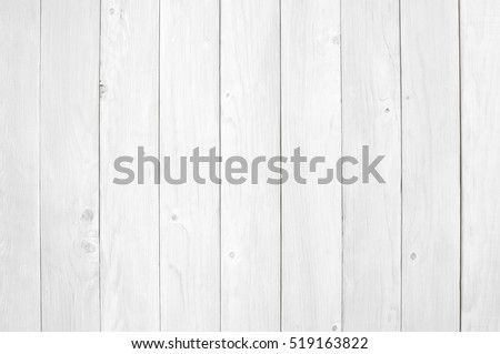 top view blank white vintage wood table, floor or wall for work and place object, or wooden board for food preparation in the kitchen and use for background