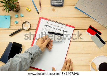 Top View Business Office Concept Business Stock Photo