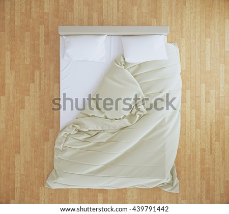 Bed Top View