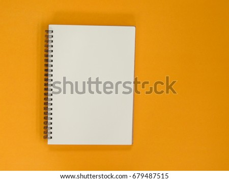 top view blank notebook paper on stock photo royalty free