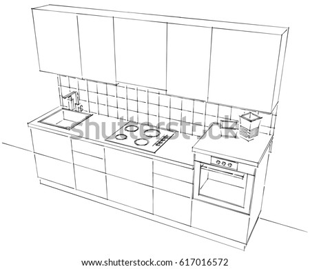 Modular Kitchen Stock-billeder, royaltyfri billeder og ...