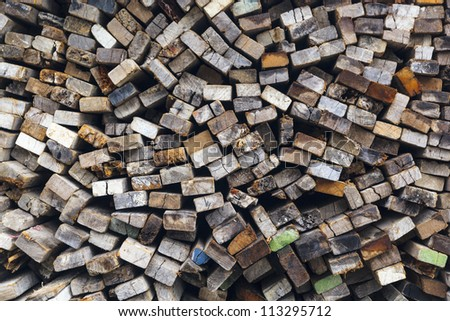 Top view of wooden background