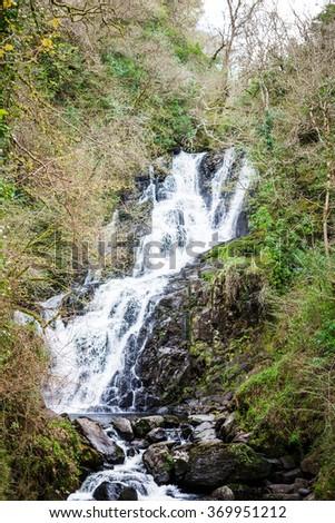 Torc Falls - stock photo