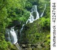 Torc Waterfall, Killarney National Park, County Kerry, Ireland - stock photo
