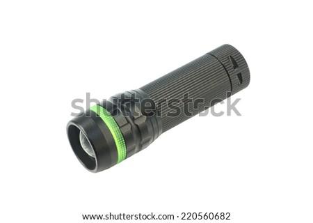 Torch ,Flashlight - stock photo