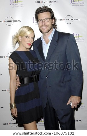 Tori Spelling and Dean McDermott  at JTN Productions' Annual Vision Awards. Beverly Wilshire Hotel, Beverly Hills, CA. 11-05-08 - stock photo