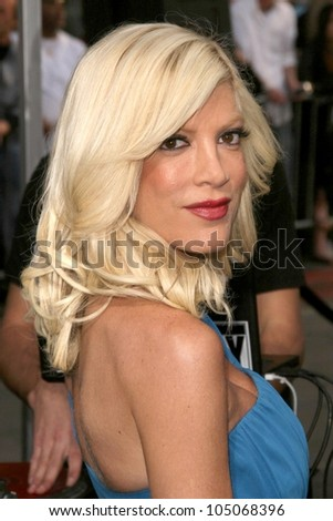 Tori Spelling  at the Los Angeles Premiere of 'Star Trek'. Grauman's Chinese Theatre, Hollywood, CA. 04-30-09 - stock photo