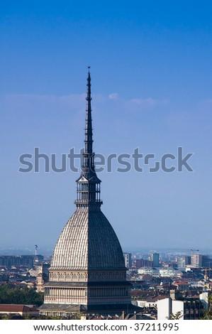 Torino Mole Antoneliana - stock photo