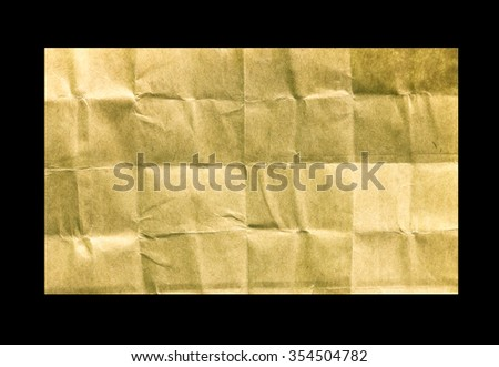 torn of ripped old paper on black background with clipping path. - stock photo