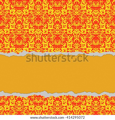Torned paper great usage card invitation stock illustration torned paper great usage as a card invitation or scrapbook background stopboris Images