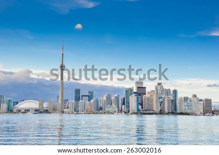 Toronto city, Canada - stock photo